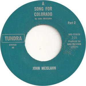 COLORADO T MEISLAHN JOHN 1973 D