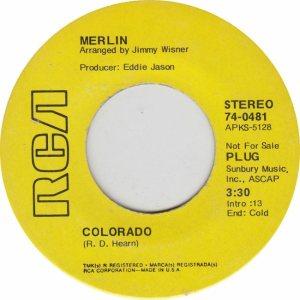 COLORADO T MERLIN 1971