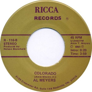 COLORADO T MEYERS AL 1987