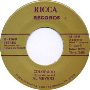 COLORADO T MEYERS AL 1987