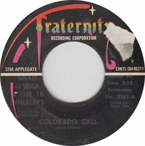 COLORADO T OSHEA 18 WHEELERS 1976