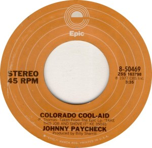 COLORADO T PAYCHECK JOHNNY 1977
