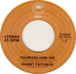 COLORADO T PAYCHECK JOHNNY 1977