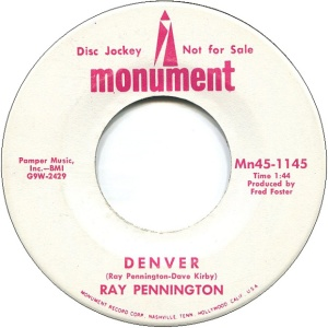 COLORADO T PENNINGTON RAY 1969 A