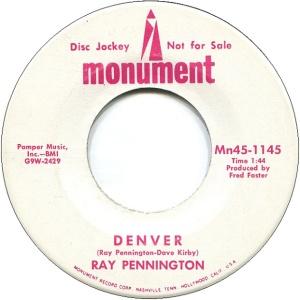 COLORADO T PENNINGTON RAY 1969 A