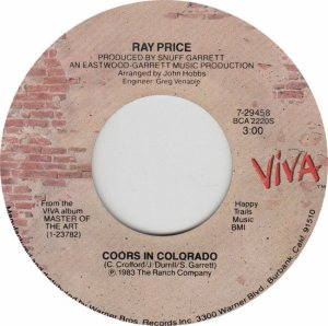 COLORADO T PRICE RAY 1983 A