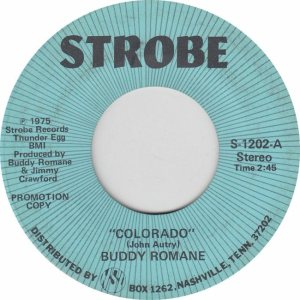 COLORADO T ROMANE BUDDY 1975