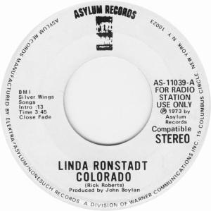 COLORADO T RONSTADT LINDA 1974