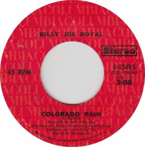 COLORADO T ROYAL BILLY JOE 1971