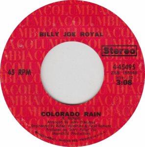 COLORADO T ROYAL BILLY JOE 1971