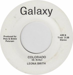 COLORADO T SMITH LEONA A