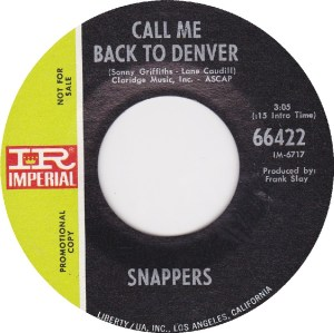 COLORADO T SNAPPERS 1969 B