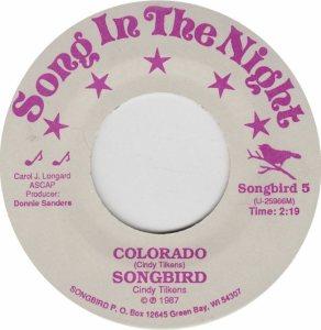 COLORADO T SONGBIRD 1969