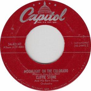 COLORADO T STONE CLIFFIE 1951 A