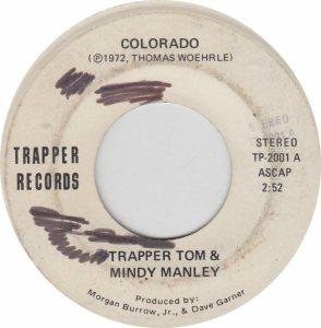 COLORADO T TRAPPER TOM 1972