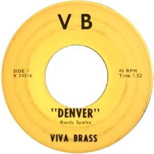 COLORADO T VIVA BRASS 1960'S A