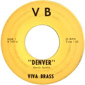 COLORADO T VIVA BRASS 1960'S A