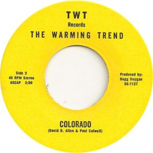 COLORADO T WARMING TREND 1971 C