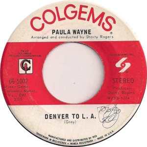COLORADO T WAYNE PAULA 1969 B