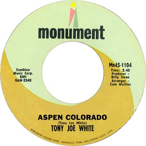 COLORADO T WHITE TONY JOE 1968 B