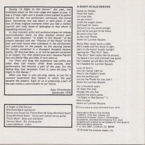 COLORADO T WHITFIELD - 1976 D