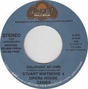 COLORADO T WHITMORE STUART 1977 A