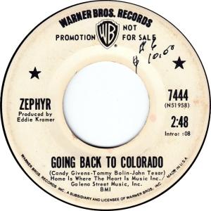 COLORADO T ZEPHYR 1970 A