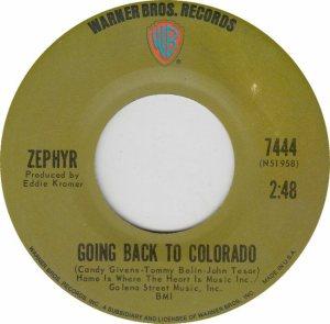 COLORADO T ZEPHYR 1970 B