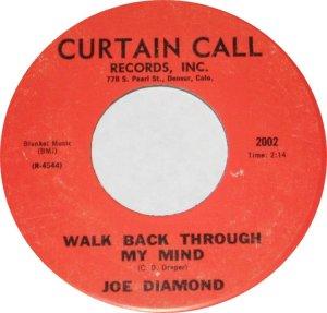 DIAMOND JOE - CURTAIN CALL B ADD