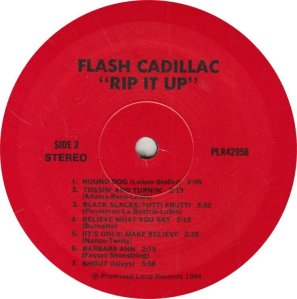 FLASH CADILLAC - RIP IT UP A (2)