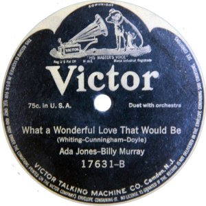MURRAY BILLY - 1914 17631 B
