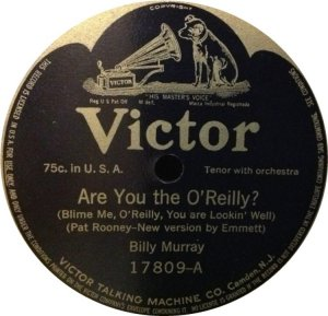MURRAY BILLY - 1915 17809 A