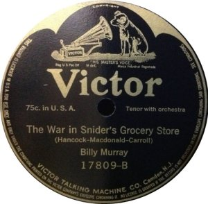MURRAY BILLY - 1915 17809 B