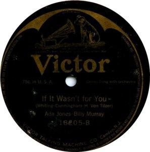 MURRAY BILLY - 1917 18205