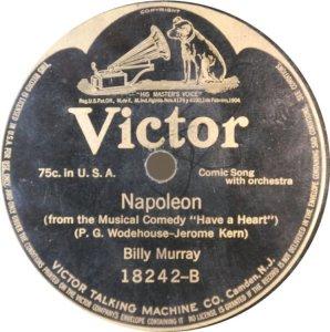 MURRAY BILLY - 1917 18242