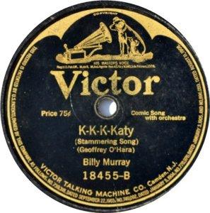 MURRAY BILLY - 1918 18455