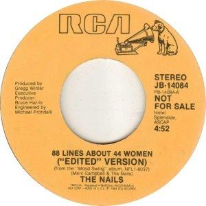 NAILS - RCA 14084 04-85 DJ A