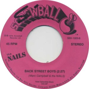 NAILS - SCREWBALL D