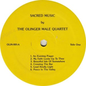 OLINGER QUARTET - OLIN 1 A (1)