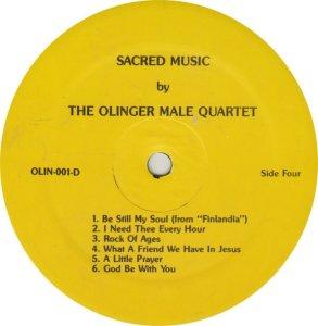 OLINGER QUARTET - OLIN 1 A (2)