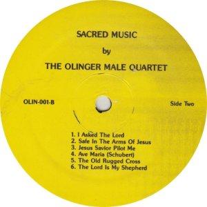 OLINGER QUARTET - OLIN 1 A (3)