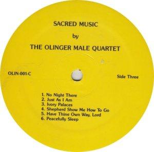 OLINGER QUARTET - OLIN 1 A (4)