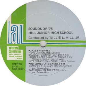 SCHOOL - HILL JR HIGH - AUDICOM 8038 A (1)
