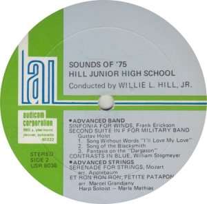 SCHOOL - HILL JR HIGH - AUDICOM 8038 A (2)