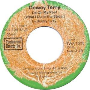 TERRY DEWEY - TUMBLEWEED 1005