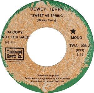 TERRY DEWEY - TUMBLEWEED 1008 A