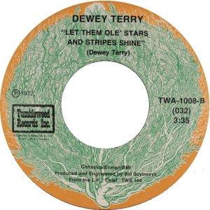 TERRY DEWEY - TUMBLEWEED 1008 B