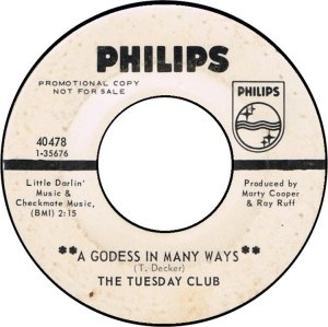 TUESDAY CLUB - PHILIPS 40478 A