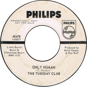 TUESDAY CLUB - PHILIPS 40478 B