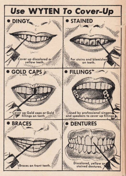 1965 DINGY TEETH